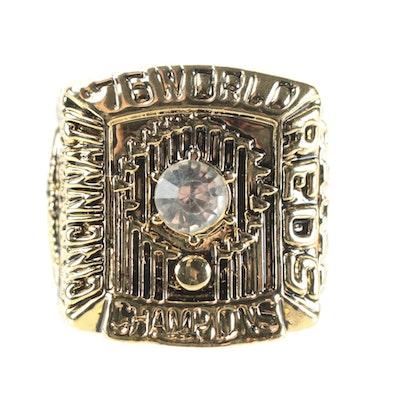 "1976 Johnny Bench ""World Champions"" Replica Souvenir Baseball Ring"