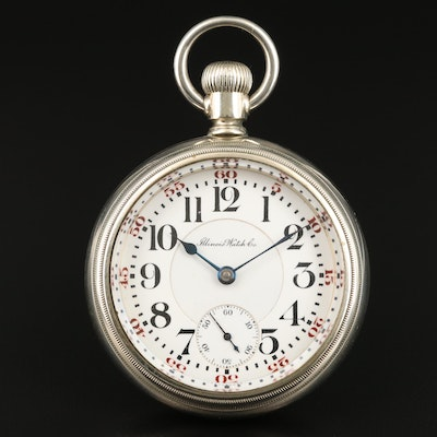 1908 Illinois Watch Co. Pocket Watch