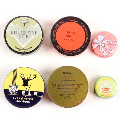 "Advertising Tins Including ""Elk"" ""Cracker Jack"", ""Keelox"" and More"