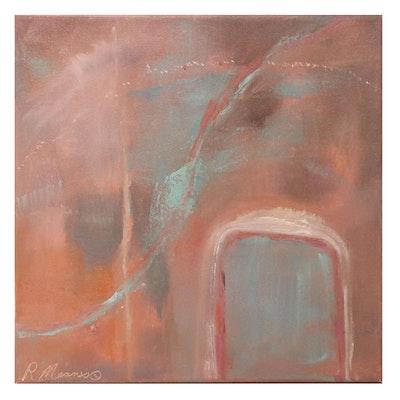 "Rebecca Manns Oil Painting ""Parellel Musings,"" 2021"