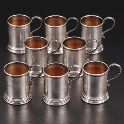 Lunt Sterling Silver Miniature Tankard Shakers