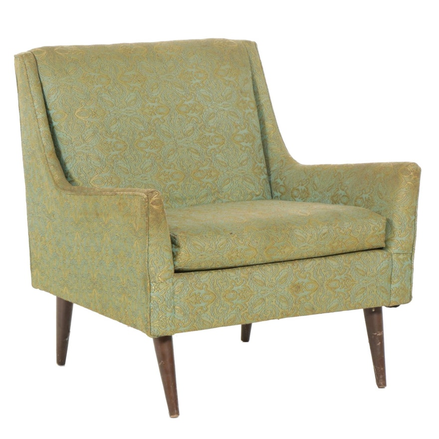 Henredon Upholstered Lounge Chair, Mid-20th Century