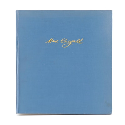 """""""Marc Chagall: Gouaches, Dessins, Aquarelles"""" by Werner Haftmann, 1975"""