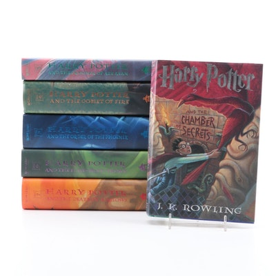 "First American Edition ""Harry Potter"" Books by J. K. Rowling"