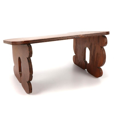 Bench Made Plywood Table Top Desk / Lectern