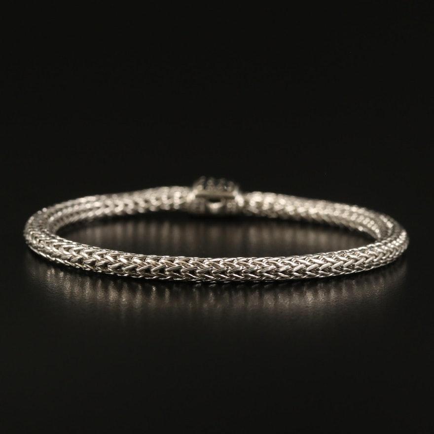 John Hardy Sterling Sapphire Bracelet