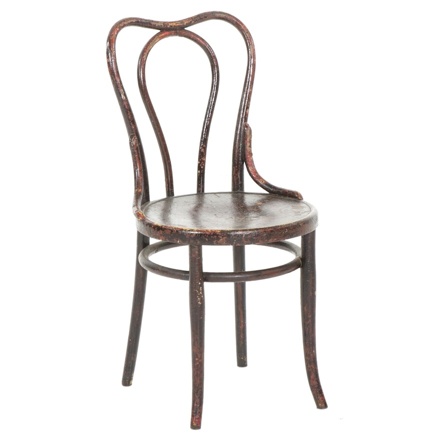 Thonet Style Bentwood Side Chair, Early to Mid 20th Century