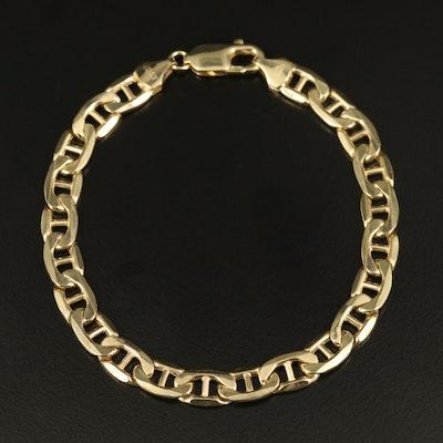 10K Mariner Chain Bracelet