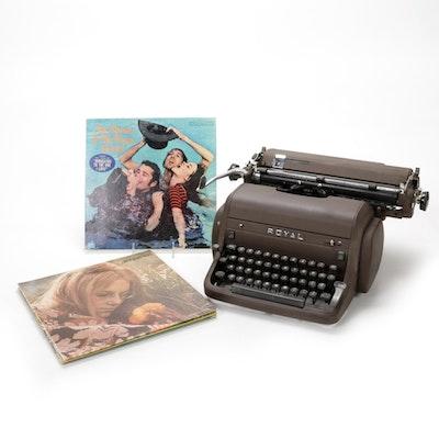 Royal Typewriter and Vintage Records