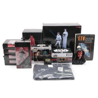 """""""Star Wars"""" Action Figures, Model Kit, Salt and Pepper Shakes, and More"""