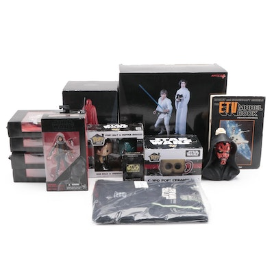 Star Wars Action Figures, Model Kit, Salt and Pepper Shakes, and More