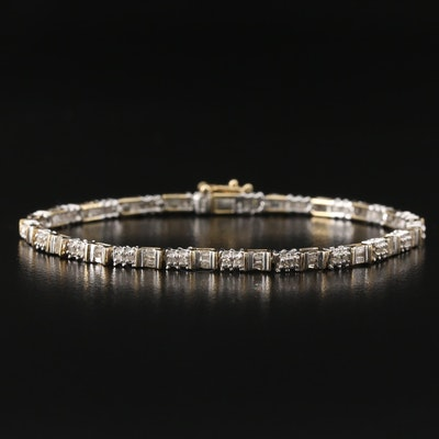 10K 1.00 CTW Diamond Bracelet