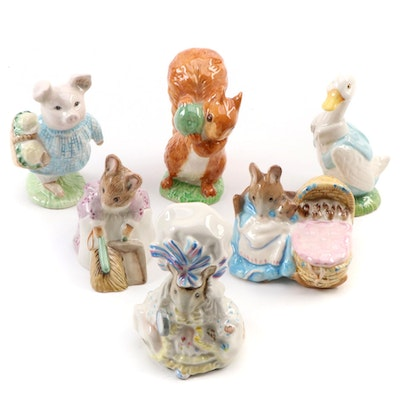 F. Warne & Co. and Royal Albert Beatrix Potter Characters, Late 20th Century