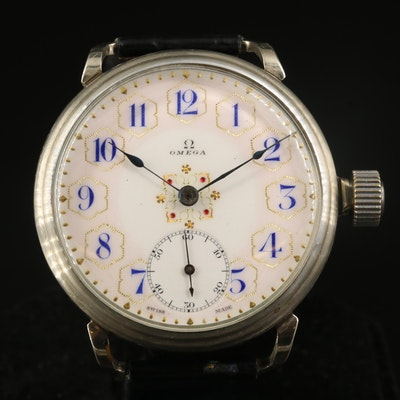 Antique Omega Pocket Watch Conversion to Wristwatch