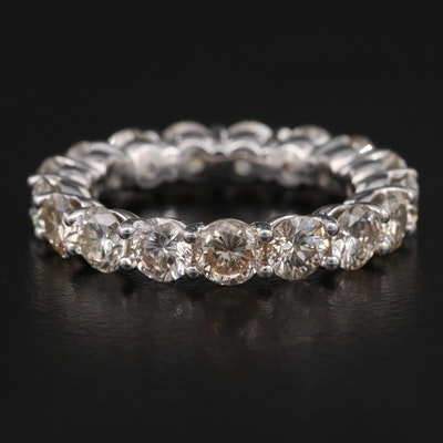 14K 4.02 CTW Diamond Eternity Band