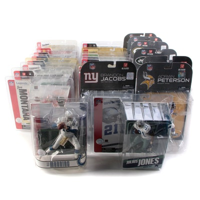 McFarlanes NFL Action Figures Including Brett Favre, Peyton Manning, and More