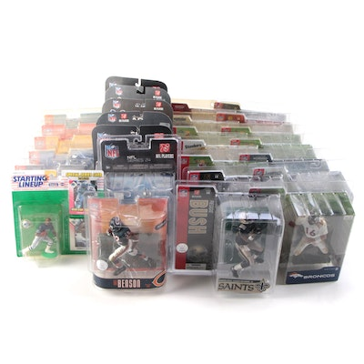 McFarlane Toys and Kenner Starting Lineup NFL Action Figures