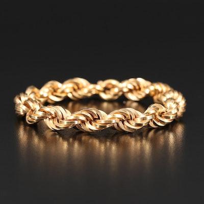 18K Rope Bracelet