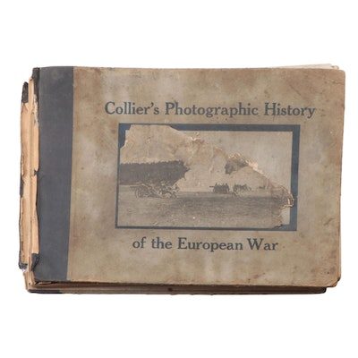 """Collier's Photographic History of the European War"" Battlefield Prints, 1915"