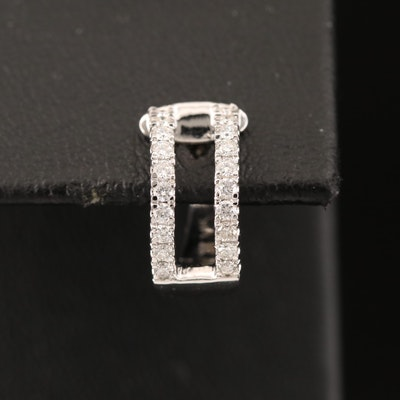 14K Diamond Ear Cuff