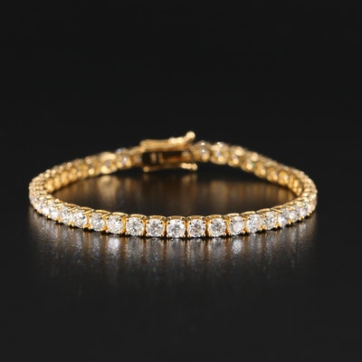 14K 8.47 CTW Tennis Bracelet