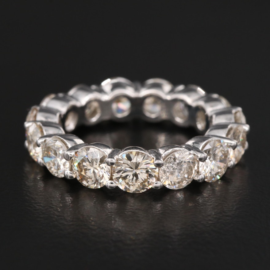 14K 5.15 CTW Diamond Eternity Band