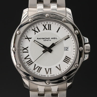 "Raymond Weil ""Tango"" Stainless Steel Quartz Wristwatch"