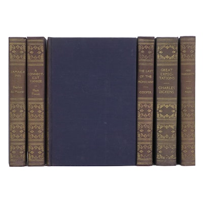 "Classic Novels Set Including ""Great Expectations"" by Dickens, Mid-20th Century"