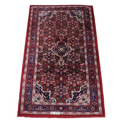 3' x 5' Handmade Indo-Persian Arak Wool Area Rug