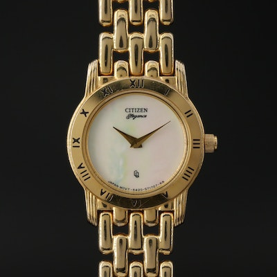 "Citizen ""Elegance"" Mother of Pearl Dial Wristwatch"
