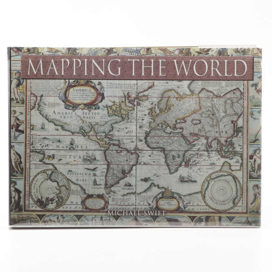 "Illustrated ""Mapping the World"" by Michael Swift, 2006"
