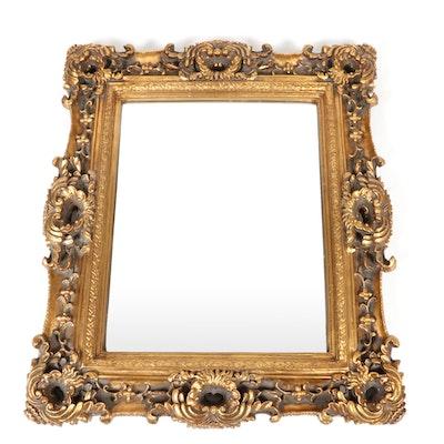 Rococo Style Gilt Frame Wall Mirror, 21st Century