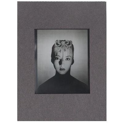 """George Platt Lynes Photo Negative """"Sono Osato,"""" Circa 1938"""