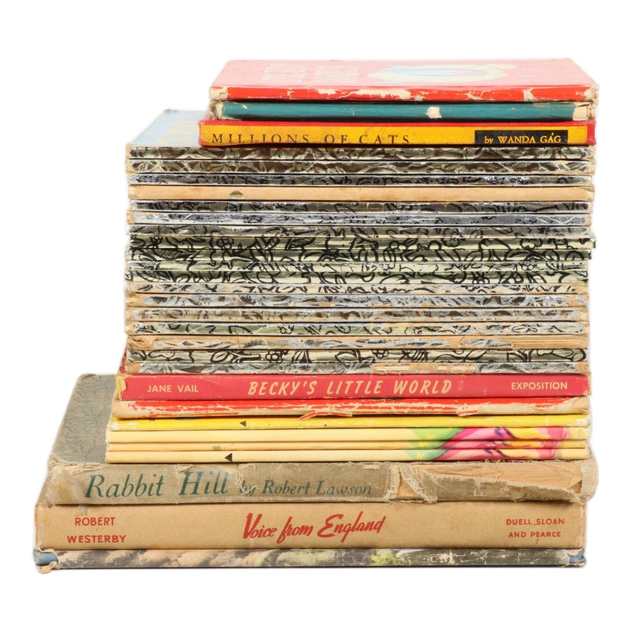 Little Golden Books and More Children's Picture Books, Mid-20th Century