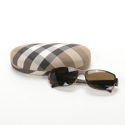 Burberry 9412/S Metal Rimmed Sunglasses with Case