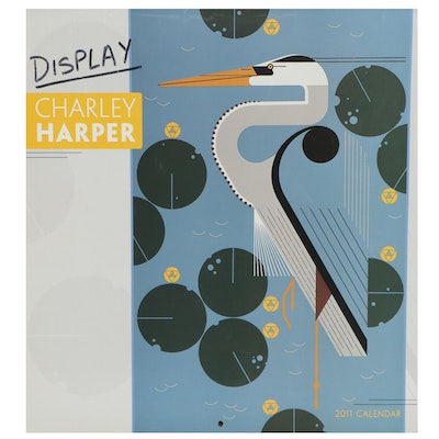 Offset Lithograph Calendar after Charley Harper, 2011