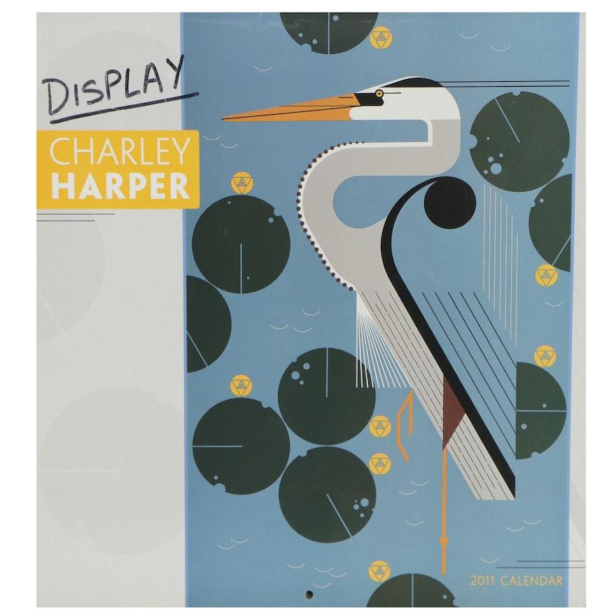 Offset Lithograph Calendar after Charley Harper, 2011
