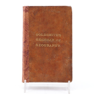 """A Grammar of General Geography"" by Rev. J. Goldsmith, circa 1836"