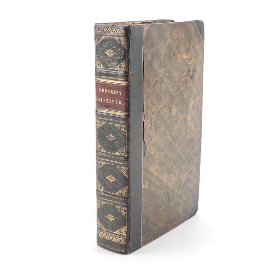 """""""The General Gazetteer; or Compendious Geographical Dictionary"""" by Brookes, 1820"""
