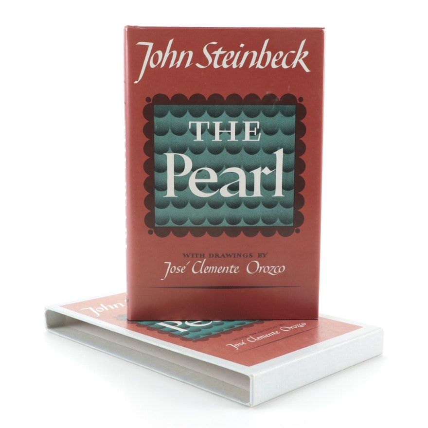 "First Edition Facsimile ""The Pearl"" by John Steinbeck with Slipcase, 1973"