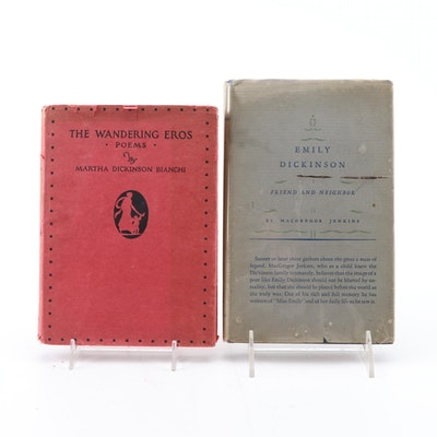 "First Edition ""The Wandering Eros"" and ""Emily Dickinson: Friend and Neighbor"""