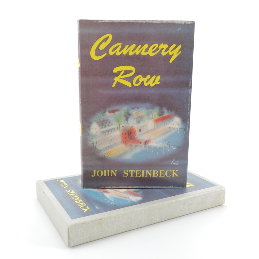 "First Edition Facsimile ""Cannery Row"" by John Steinbeck with Slipcase, 1973"