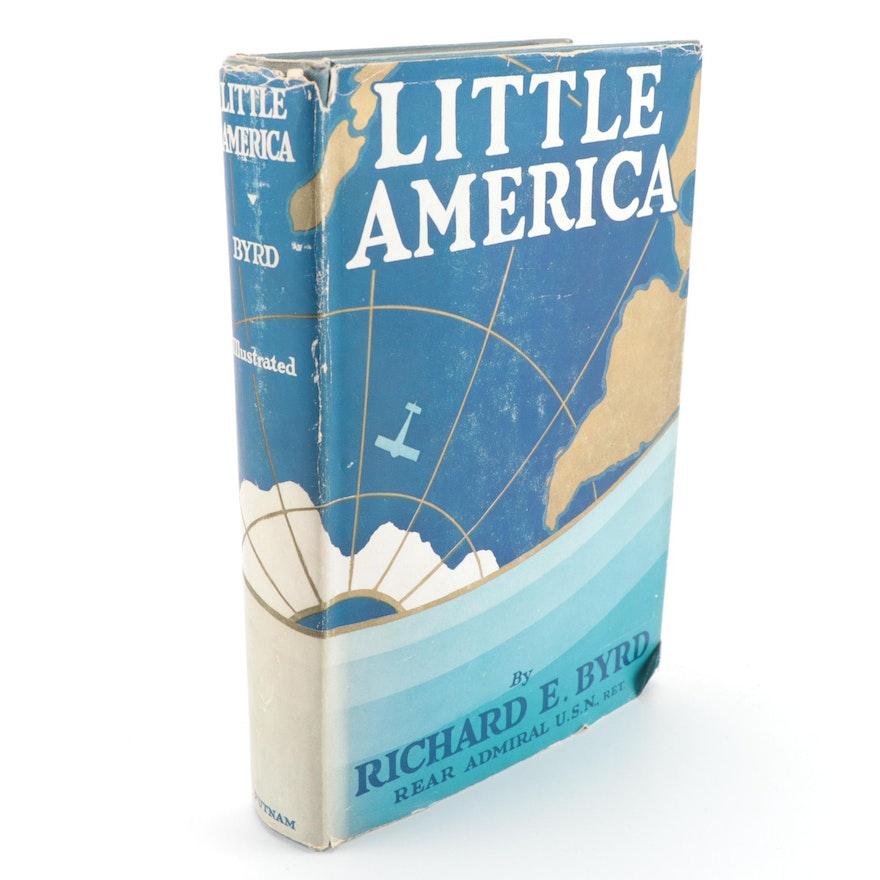 "Signed Sixth Impression ""Little America"" by Richard Evelyn Byrd, 1930"