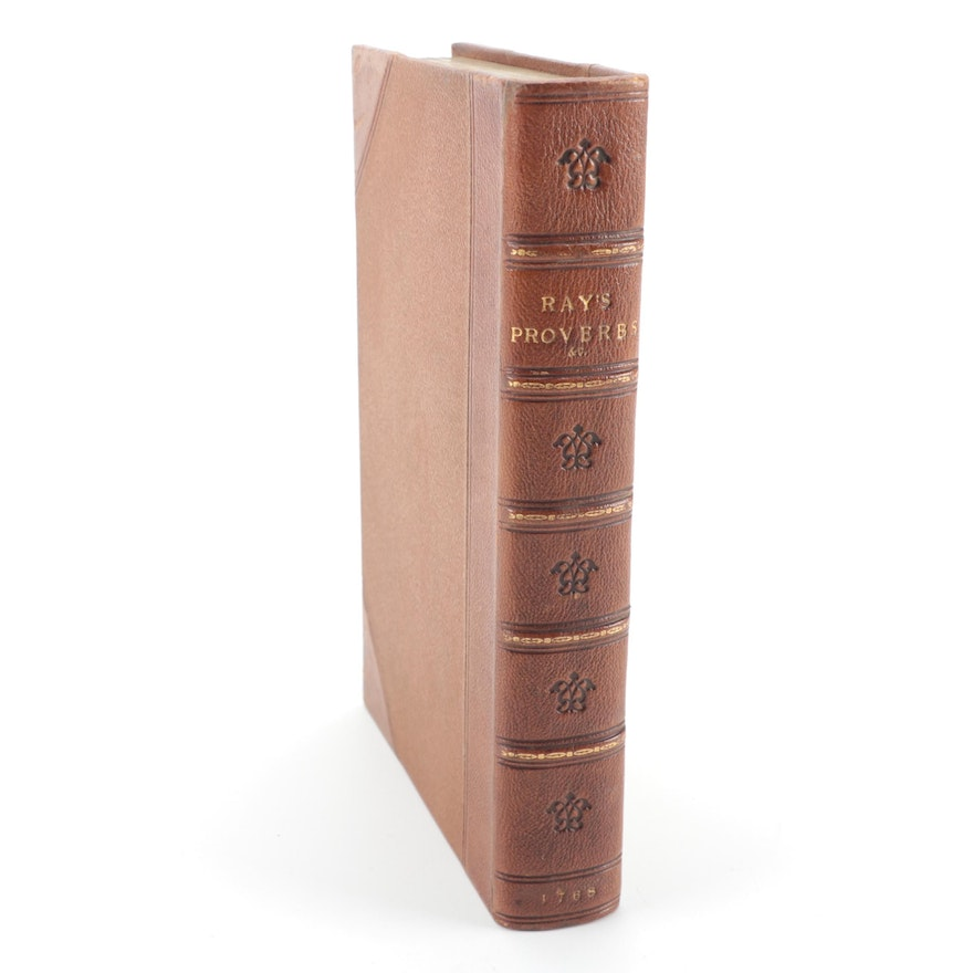 """""""A Compleat Collection of English Proverbs,"""" 1768"""