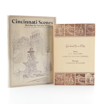 "Caroline Williams Books Including Signed First Edition ""Cincinnati Scenes"""