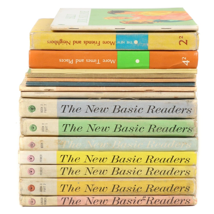 """""""The New Basic Readers Curriculum Foundation Series"""" Primers, 1960s"""
