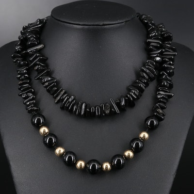 Black Onyx Endless Necklace
