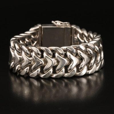 Sterling Infinity Link Bracelet