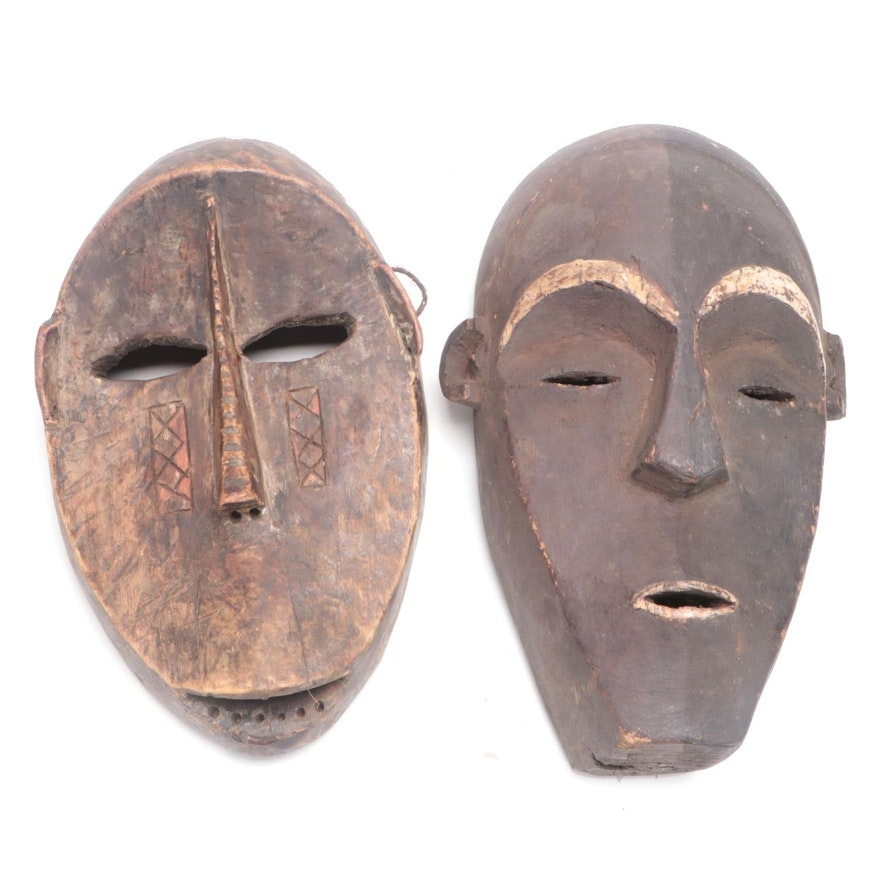 Ngbaka Style and Other Central African Mask