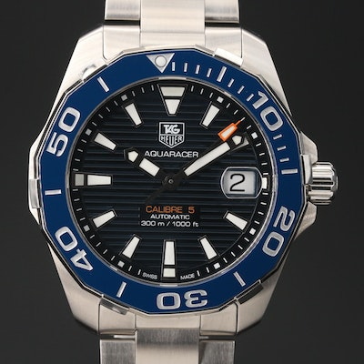 TAG Heuer Aquaracer Calibre 5 Wristwatch